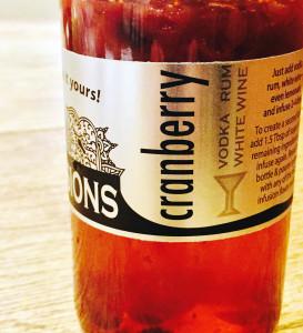 rokz Cranberry infused balsamic vinegar