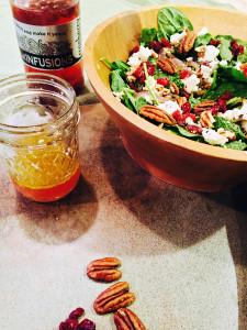 rokz Cranberry Infused Vinegar