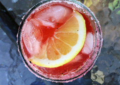 Hibiscus Bourbon Tea
