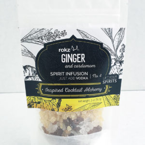 rokz ginger cardamom infusion flavor pack