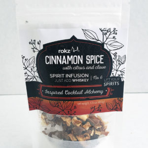 rokz cinnamon spice infusion flavor pack