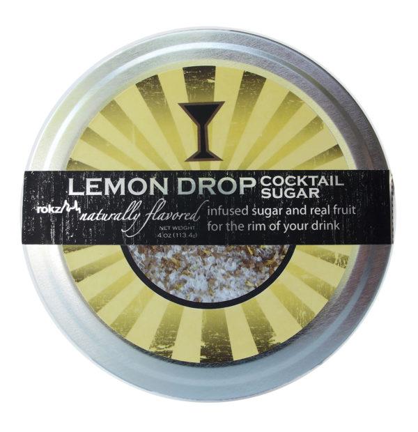 rokz lemon infused sugar